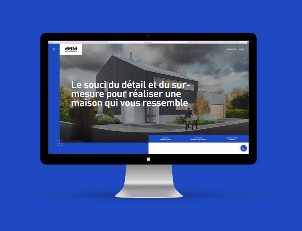 Le site web Aera à Mulhouse